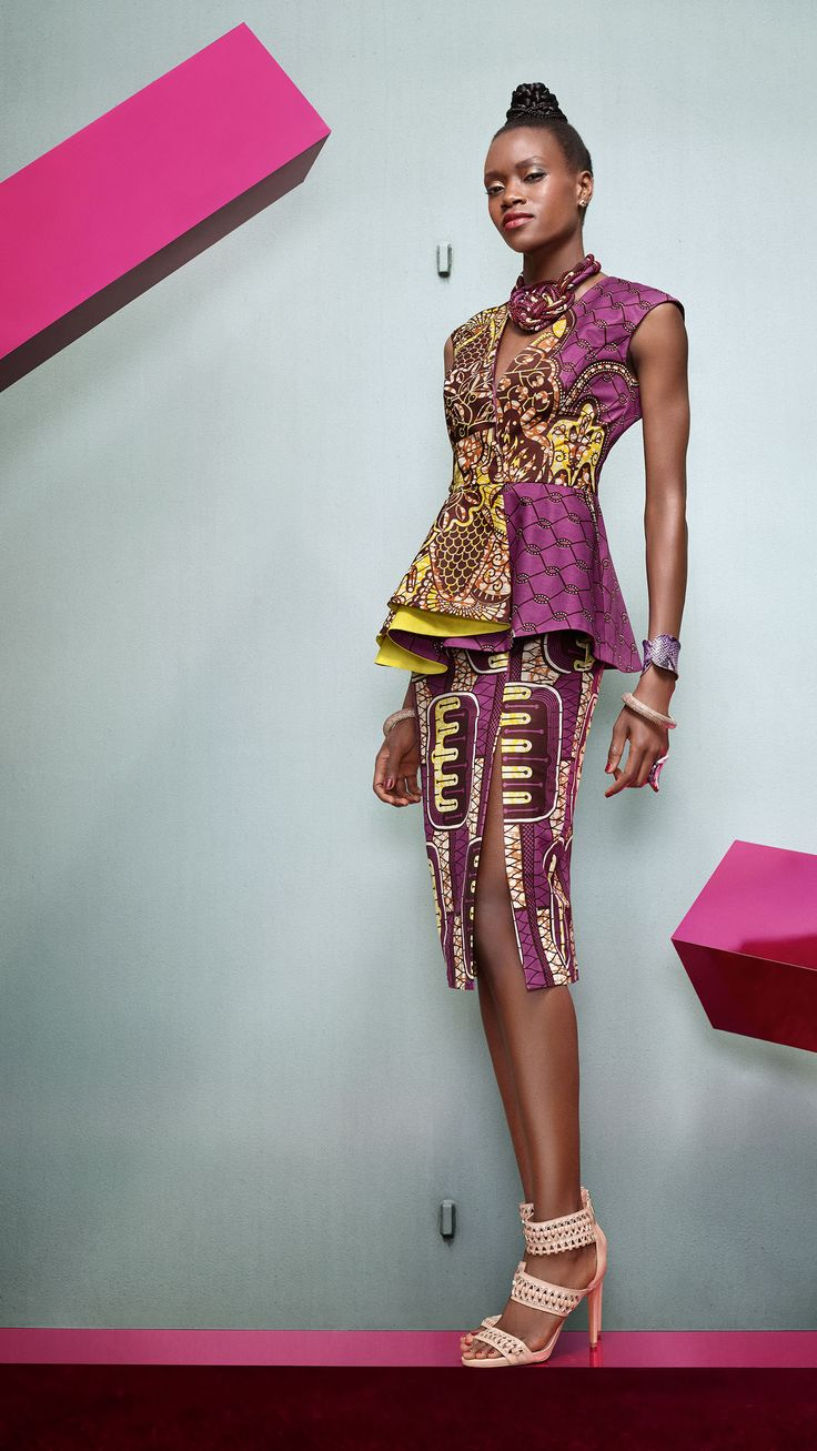 LOOK CHIC ET ÉPURÉ - Vlisco V-InspiredVlisco V-Inspired