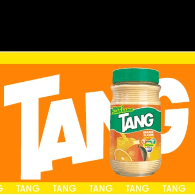 You're a product of the 80s when you ate spoonfuls of Tang as a kid. My cousin and I would run in my Granny house and make ourselves Tang syrup, basically.