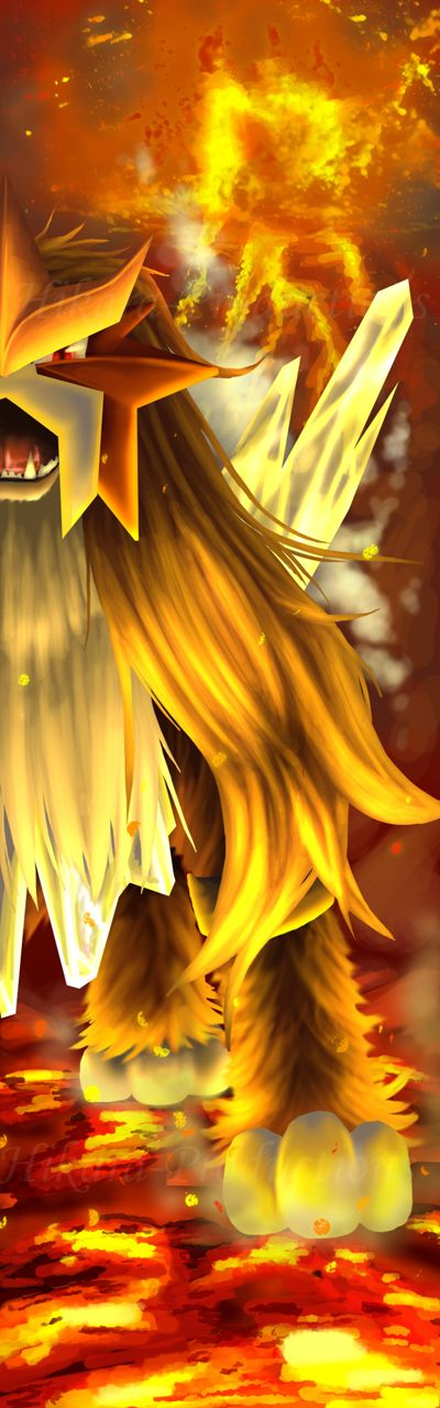 Geothermic Boundaries - Entei by Hikara-Productions.deviantart.com on @deviantART