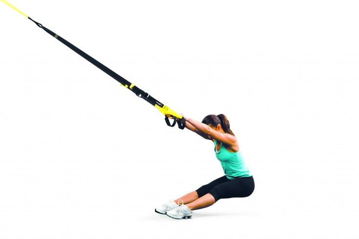 Use these TRX moves to reduce back pain and open up your hips.