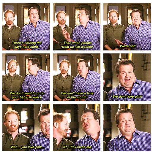 oh cam: Families Quotes, Modern Families, Giggles, Funny Stuff, Pink, Love Me, Hilarious, Tv Couple, Baby Shower