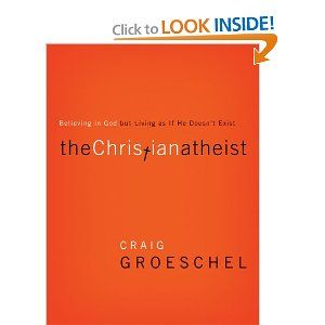 The Christian Athiest by Craig Groeschel -'The more I looked, the more I found Christian Atheists everywhere.' Former Christian Atheist Craig Groeschel knows his subject all too well. After over a decade of successful ministry, he had to make a painful self admission: although he believed in God, he was leading his church like God didn't exist.