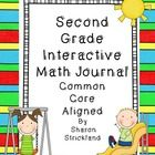 This is a bundle of interactive math journal activities to last the entire school year.  Each Common Core Math Standard for 2nd grade is included. ...