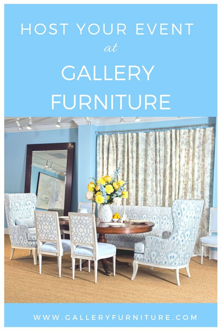 Your Loved Ones Can Celebrate Bridal Shower Baby Birthday Party And More Follow The Pin For Details Houston Tx Gallery Furniture