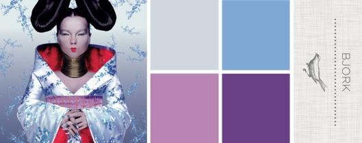 Sound in Color: Bjork - Homogenic