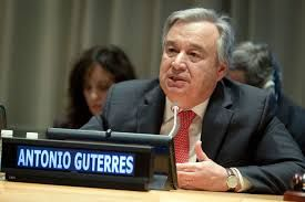 United Nations (CNN) Antonio Guterres cheerfully walked into the United Nations on Tuesday to of...