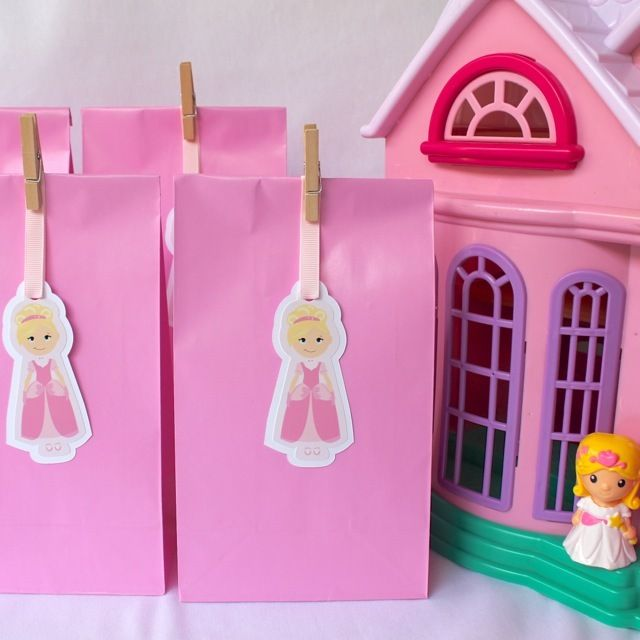 Princess Paper Party Bags