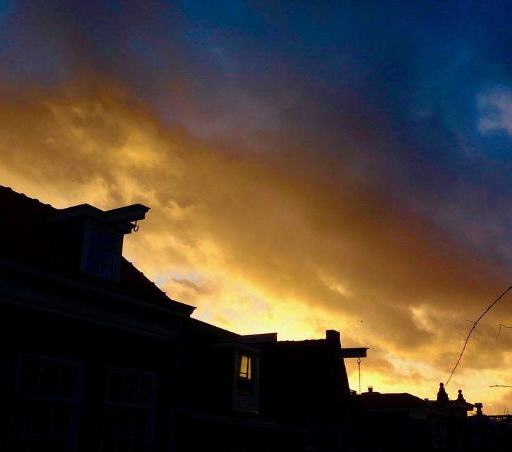Zonsondergang #Sunset 26-12-2017