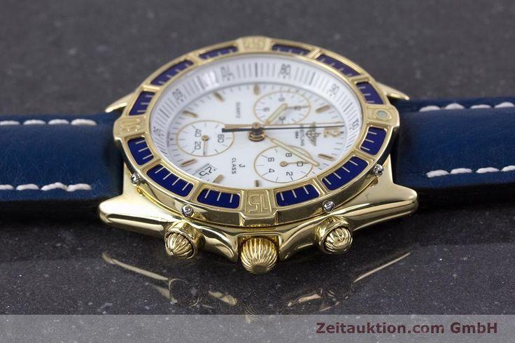 Breitling J-Class Chronograph 18k Gold Quarz Kal. ETA 251262 | 160117 | Zeitauktion
