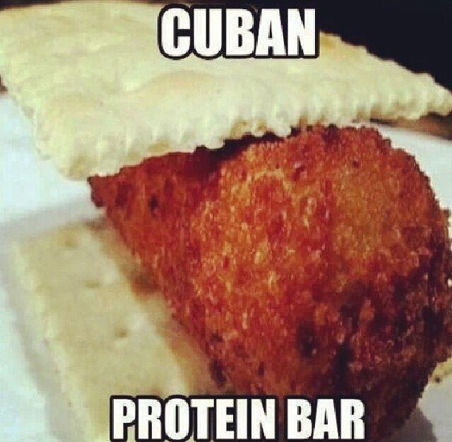 Cuban humor....croketas son rikisimas como las extraño