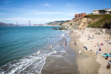 How to See San Francisco's Quaintest Little Cove: China Beach: China Beach, San Francisco