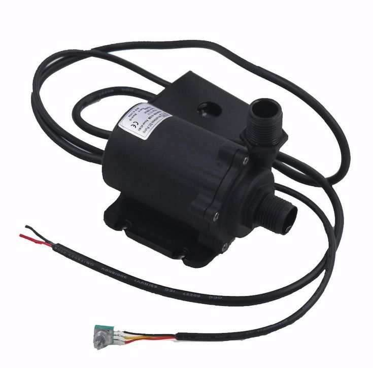 High Pressure Pump 1500LPH 15M High Lift DC24V Submersible Small Water Pump Brushless DC Motor Driven for Hot Water