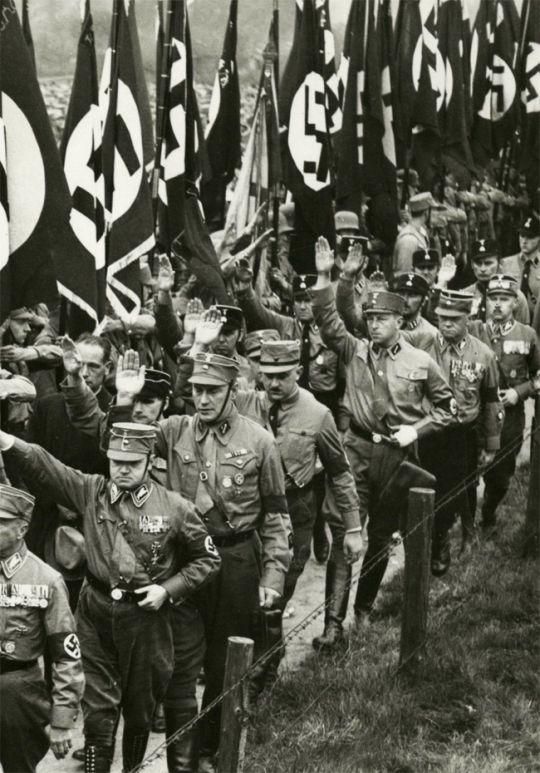 Adolf Hitler and Sturmabteilung (SA