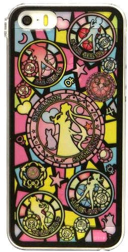 Sailor Moon Stained Glass! Official Japanese Sailor Moon phone cover for iPhone 5/5S/5C, 4/4S and Galaxy 4! http://www.moonkitty.net/reviews-buy-sailor-moon-phone-cases-straps-charms.php @Kristin West Moon #SailorMoon
