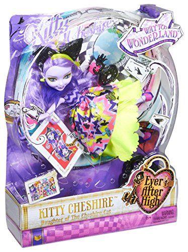 【楽天市場】エバーアフターハイ人形ドール Ever After High Way Too Wonderland Kitty Chesire Doll:ファミリーポケット