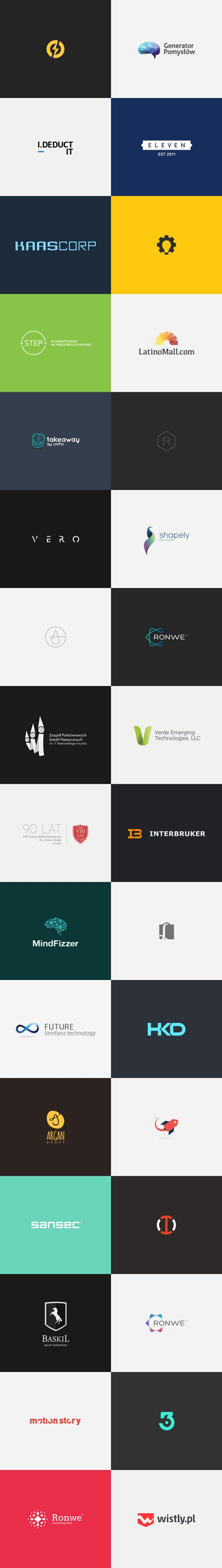 Inspiring Brand Marks. Dominik Pacholczyk is a Lodz, Poland based graphic designer and art director specializing in logo design, development of complete br