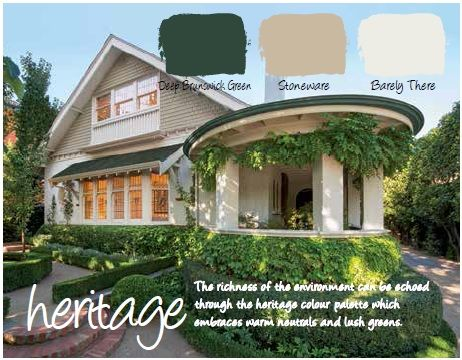 Haymes Paint Exterior Colour Scheme Haymes Deep Brunswick