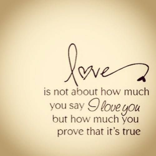 Love is not....