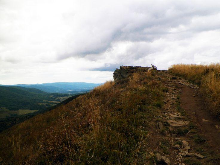 Zejście z Połoniny Caryńskiej na Przełęcz Wyżniańską. Bieszczady Mountain Poland 2015. #Bieszczady #Mountain #PołoninaCaryńska