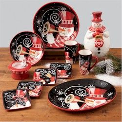 Stephanie Stouffer & 190 best Christmas Dinnerware images on Pinterest | Christmas ...