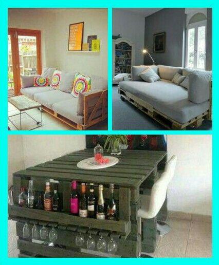 Best 25 muebles hechos con tarimas ideas on pinterest for Muebles de jardin con tarimas