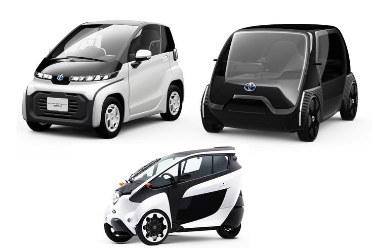 Tokyo 2019: Toyota presents its mini-urban electric vehicles