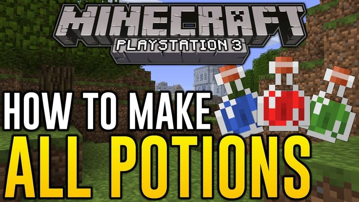 Short and sweet video by CarnageTheCreator on making Minecraft potions in Playstation. Check it out! http://www.minecraftwiz.com/category/recipes/