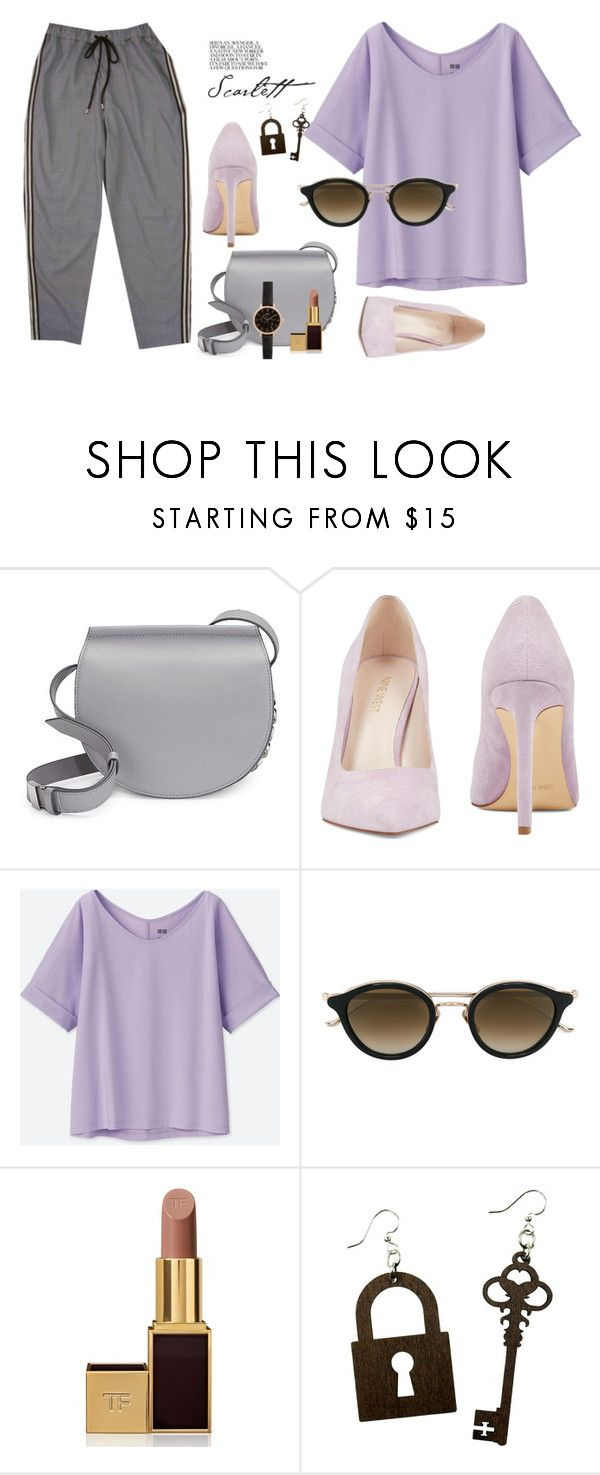 Без названия #34 by ankaminackowa on Polyvore featuring мода, Uniqlo, Nine West, Givenchy, New Look, Chrome Hearts and Tom Ford