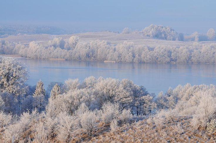 Jezioro Wulpińskie kiedyś...