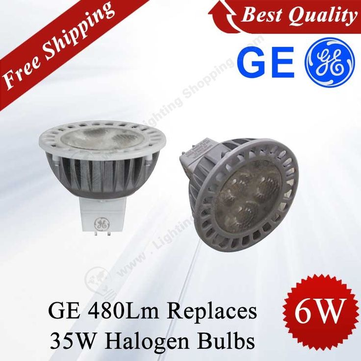 Superior quality!! 6W #GE #LED #Spotlight, #MR16 Shape, DC12V, 230Lm, Replaces 35W Halogen #Bulbs - See more at: http://www.lightingshopping.com/6w-ge-led-spotlight-mr16-shape-dc12v-230lm.html