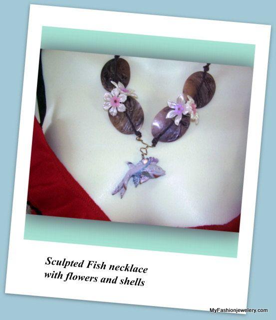 Women Jewellery Fantasia Pink  Necklace set  earring by My Australia, $20.00