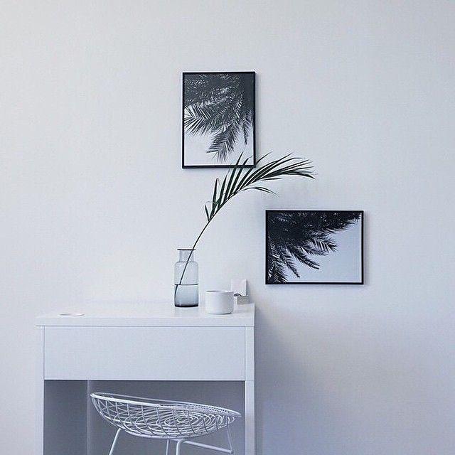Vi glæder os til disse smukke foto plakater rammer shoppen inden længe #palmer #fotokunst # ...