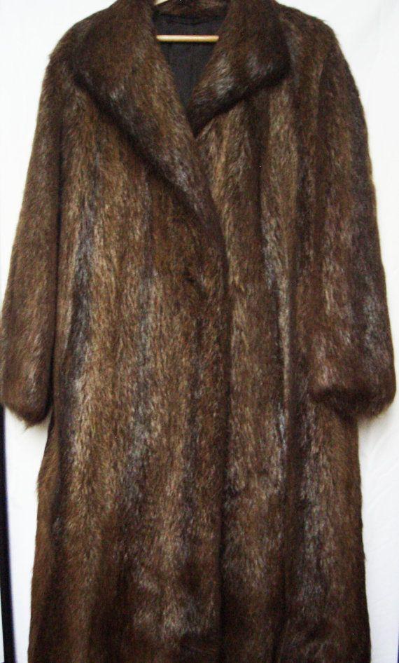 Vintage full length genuine long haired beaver by ElisewinsBoat