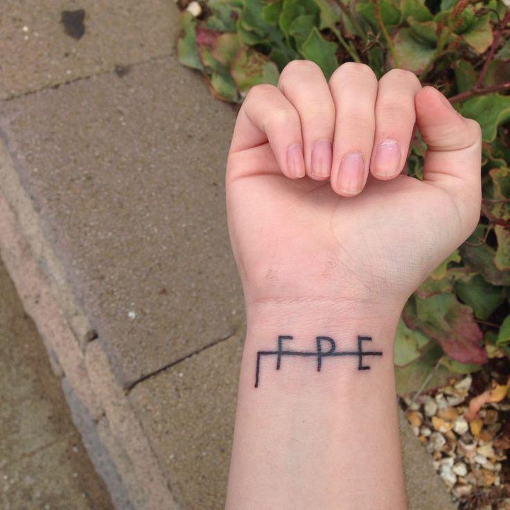 New tattoo! The few, the prøud, the emøtional : twentyonepilots