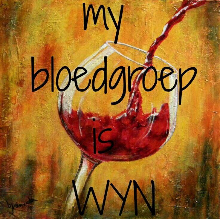 My bloedgroep is WYN