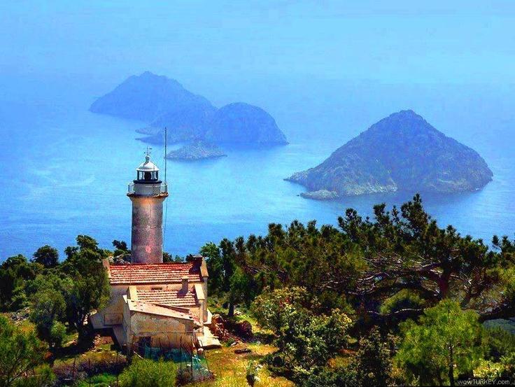 Gelidonia Lighthouse, Antalya - Turkey