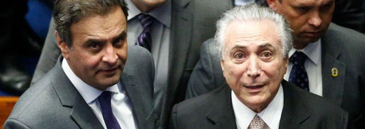 SUED E PROSPERIDADE: 63,7% DOS BRASILEIROS ESPERAM A PRISÃO DE AÉCIO