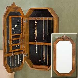 Mirror/Jewelry amoire