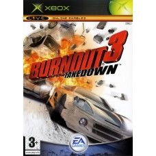 Burnout 3: Takedown PAL for Microsoft XBOX from EA Games