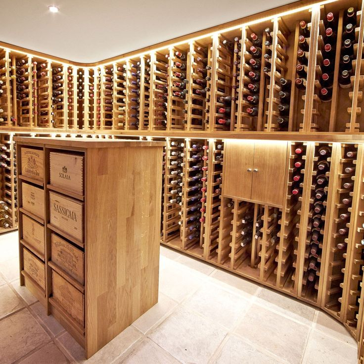 """Ideales Weinregalsystem für Vinotheken und für private Weinliebhaber mit großen """"Weinschätzen"""". Elegant, klassisch und vielfältig - Weinregal PROVINALIA"""