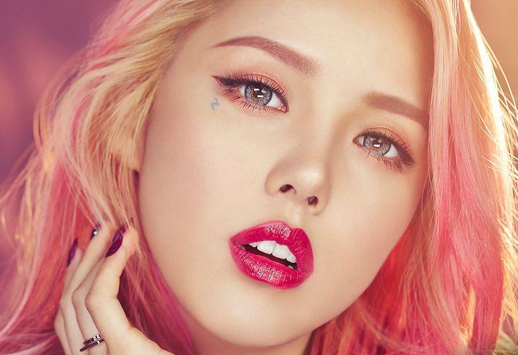 Park Hye Min Ulzzang - 박혜민 포니 - Korean makeup artist ...