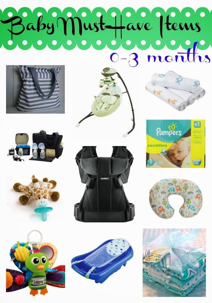 0 3 Month Baby Must Haves Baby Items Babies And Baby