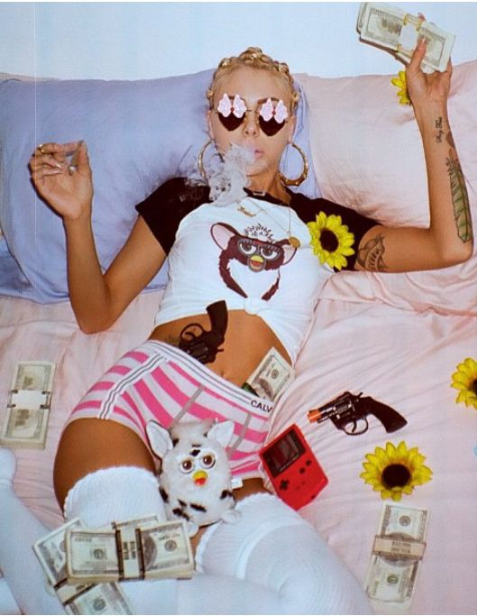 Lil Debbie, I love her and this picture is amazing