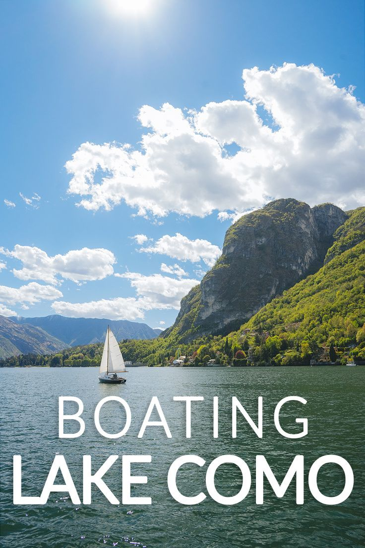 Boating Lake Como was an amazing experience. The scenery is breathtaking! Add this to your bucket-list.   #Vacation #Travel #Explore