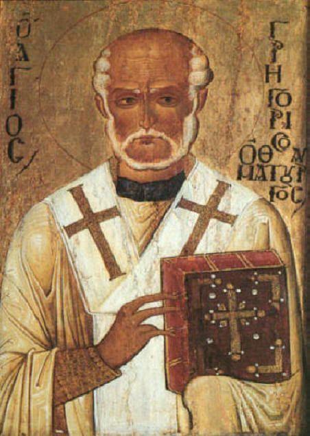 Le prénom Grégoire vient du mot grec egrègoreô qui signifie : je veille, ou je suis éveillé. Prénoms apparentés : Gregoor (scandinave), Gregorio (italien), Gregory (anglais & russe) Gringoire (vieux français). Il naît vers 213, à Néocésarée, dans le Pont,...
