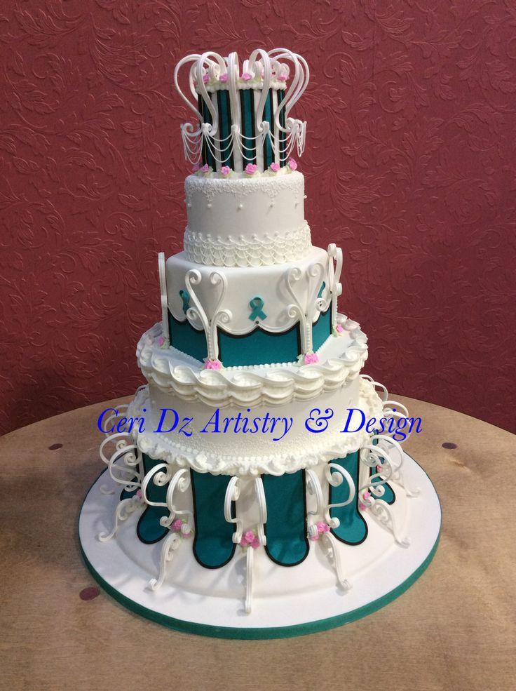 Turquoise Birthday Cake Ideas