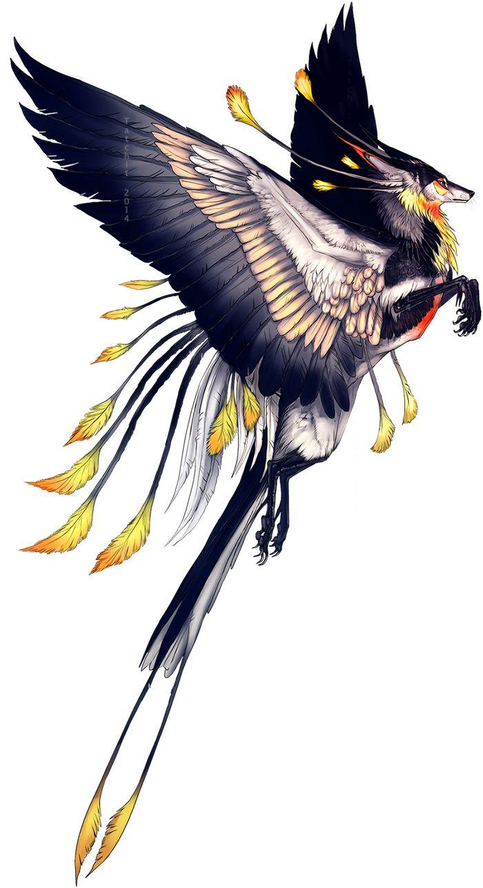 Winged Tropic Feonix by Tatchit.deviantart.com on @deviantART