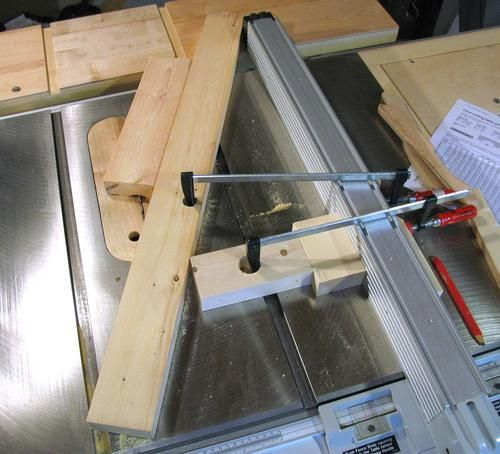 Cove cutting on the table saw