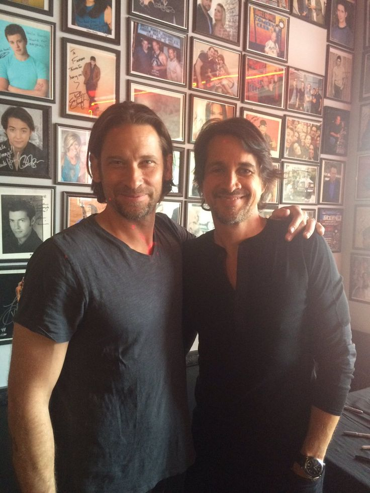 Roger Howarth and Michael Easton