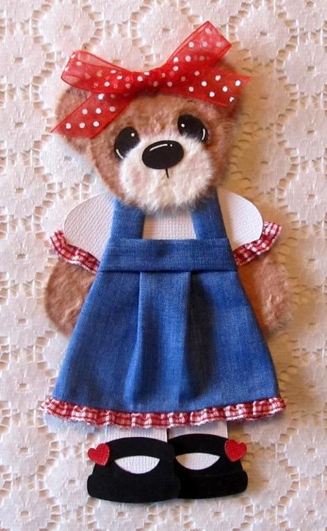1104 best paperpiecing scraps images on pinterest punch art girl tear bear paper piecing scrapbook fandeluxe Ebook collections